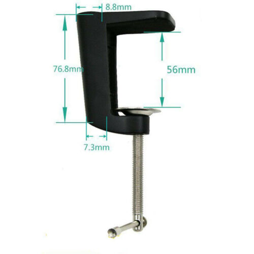Heavy-duty Metal Table Mounting Clamp for Suspension Arm Sta