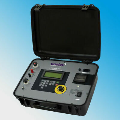 Tinsley Mo-5899-100a 100 Amps Digital Micro-ohmmeter Dlro - 300 M