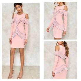 Brand New Tassel Dress size Small