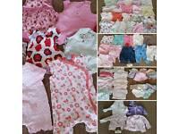 Girls summer bundle age 3-6 months