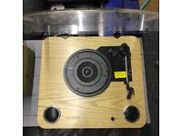 Ion Wooden Vinyl Player Great Condition