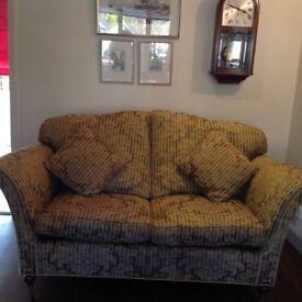 2 seater sofa Canterbury v.g.c