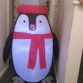 NEW, LED INFLATABLE PENQUIN