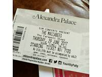2x the Maccabees tickets 29th June Alexandra Palace