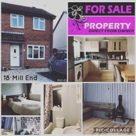 3 Bedroom house FOR SALE Kingsteignton