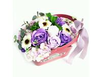 Flower Soap Basket