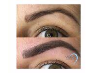 Mobile or Salon Eyelash Extensions & Microblading