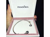 Pandora open bangle