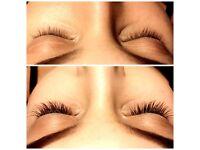 Promotion! Individual Eyelash Extensions 60£. Salon in Raynes park.