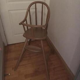 Kiddie high chair