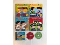 Topsy and Tom 4 books + CD audiobook 25 stories