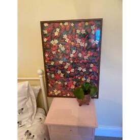 Ikea Hosta walnut effect frame 50x70cm