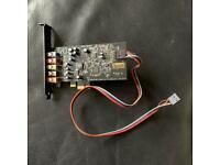 ~ CREATIVE SOUND BLASTER SB1570 ~ Audigy FX 5.1 PCIe Sound Card + SBX Pro Studio