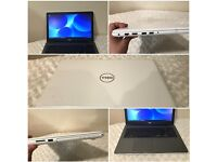 Brand New Dell Gaming Laptop with warranty, Intel i7 7th Gen, 4GB Graphics, SSD White