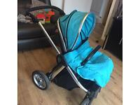 Oyster max peak with carrycot and more