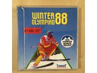 Winter Olympiad 88 game for Atari ST Vintage game