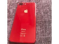 iPhone 8 Plus in red 64gb unlocked