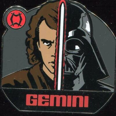 Star Wars Zodiac Mystery Gemini Anakin Skywalker Darth Vader Disney Pin 96539