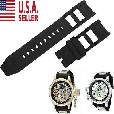 RUBBER WATCH BAND STRAP FOR INVICTA RUSSIAN DIVER 1201 1805 1845 1959 26MM#4 US Invicta Rubber Bracelets