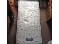 FREE Silent night single bed mattress