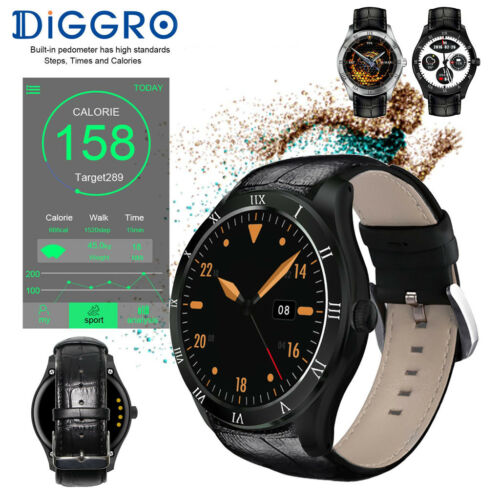 Diggro DI05 3G Android 5.1 Smart Watch 8GB WiFi GPS Bluetooth Orologio Telefono