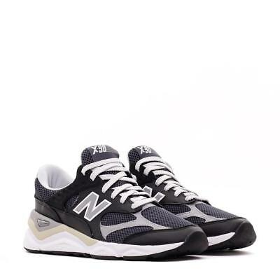 - NEW BALANCE X-90 RECONSTRUCTED MSX90RPA BLACK/GREY/WHITE/TAN - LEATHER/MESH