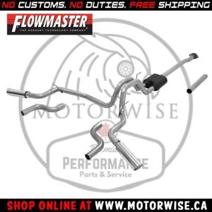 Flowmaster American Thunder Catback Exhaust | 2015 to 2018 Ford F-150 | Shop & Order Online at www.motorwise.ca