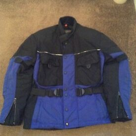 Motorbike helmet small,brand new.armoured jacket small.armoured trousers small.