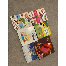 Kids books bundle of 6
