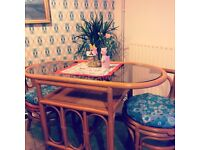 Retro kitsch cute 2 seater table and chairs