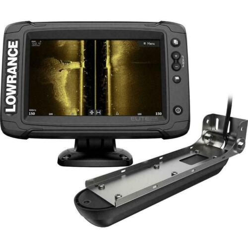 Lowrance Elite 7 Ti2 Active Imaging 3-In-1 GPS Fish FinderChartplotter NIB