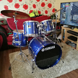 Yamaha Stage Custom Advantage FULL Drum Kit ++ Extras | WAS £963