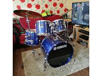 Yamaha Stage Custom Advantage FULL Drum Kit ++ Extras | WAS £963