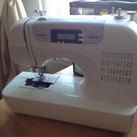 Brother Bc2100 sewing machine and all the extras - perfect Christmas gift!