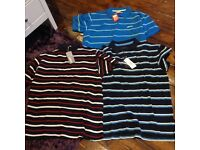 Bundle of 3 Polo Tops Large Brand New