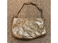River Island clutch bag