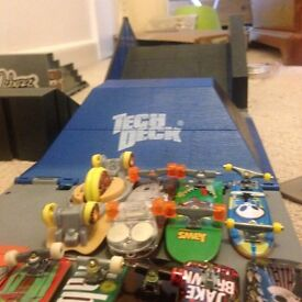 Tech Deck Ramps and Boards