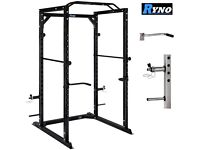 Power Cage - Olympic Barbell - Olympic Weight Plates