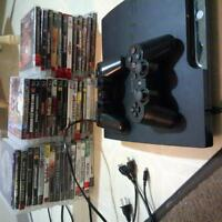 PS3 42 games, plus 17 games, 40 movies on hd 700$obo