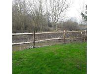 12m cleft chestnut fencing