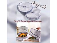 Set of 2 Thermal Pop-up Food Covers