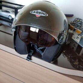 Motorbike Helmet Caberg brand, size S, black metallic