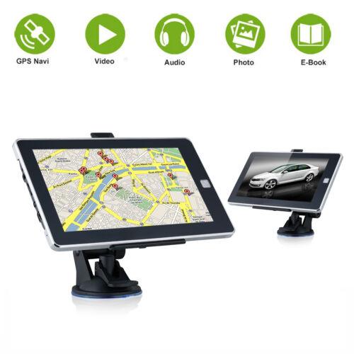 NAVIGATORE SATELLITARE GPS NAVIGAZIONE 7,0 POLLICI CAMION TRUCK AUTO MAPPA 8GB