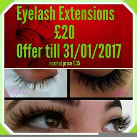 Offer!!! Eyelash Extensions! Mobile therapist!