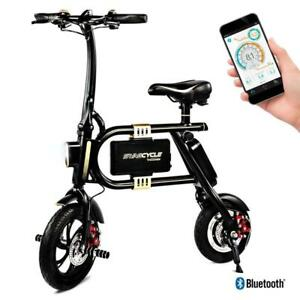 NEW SWAGTRON SwagCycle E-Bike  Folding Electric Bicycle with 10 Mile Range, Collapsible