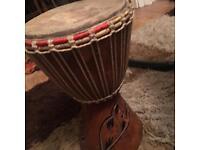 bongo drums hand made