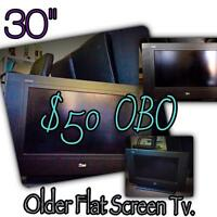 (Cheap But Works Great) Flat Screen TV