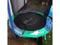 FREE 5ft trampoline