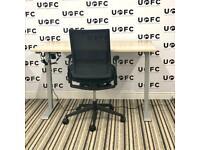 Electric Desk & Senator Chair