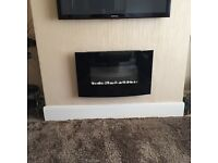 Modern electric fire for sale